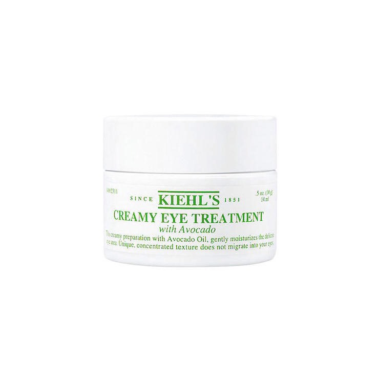KIEHL'S CREAMY EYE TREATMENT WITH AVOCADO | In addition to avocado oil, this eye cream contains beta-carotene (the antioxidant found in orange + red veggies) + shea butter to protect the delicate skin around your peepers.  BUY IT | $48, bloomingdales.com