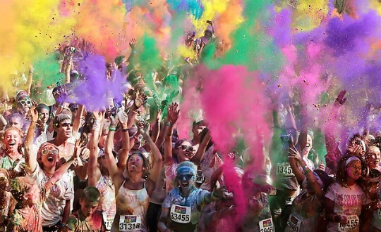 Go to a color run!