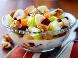 Fruit and Cereal Lean cereal, fruits and low-fat milk. This gives you a lot of nutrition your body needs.