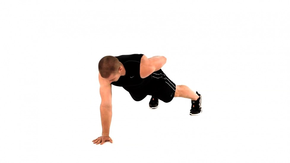 Feeling pro? Try doing a one handed push-up but try not to hurt yourself for this is a difficult thing to try at first.