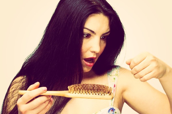 Is your hair falling out when you brush it?