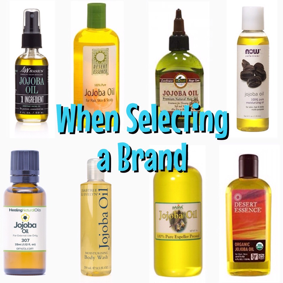 ... look for those that are not mixed or diluted with other oils. Jojoba has a surprisingly long shelf life, so it can sit on your shower shelf for years!