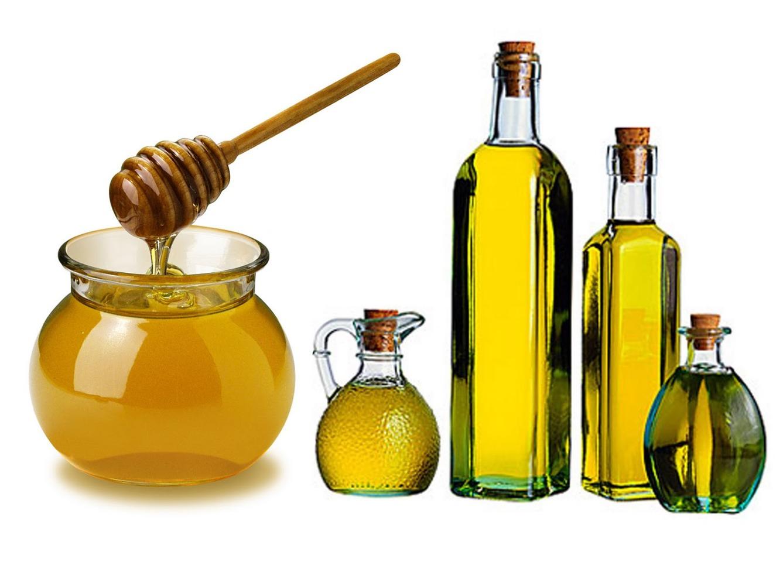 Honey or olive oil