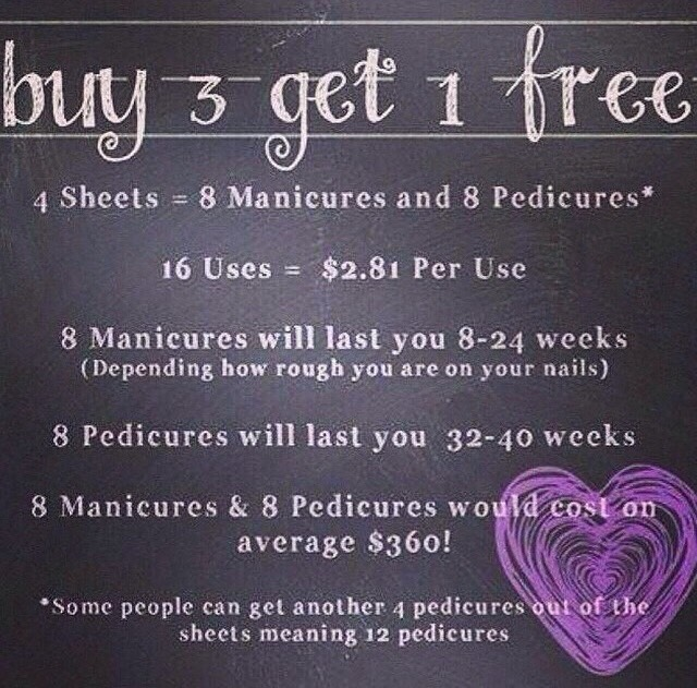 And at Buy 3 Get 1 free you honestly can't go wrong!!!