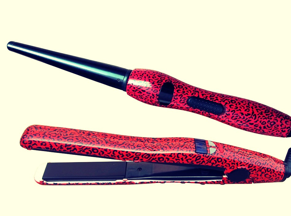 A straightener or a curler depending what hair type you are 💆