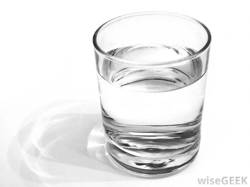 How much water should you drink? Take your weight in pounds. Divide by 2. That's how many fl oz you need a day. (8 fl oz are in one cup)