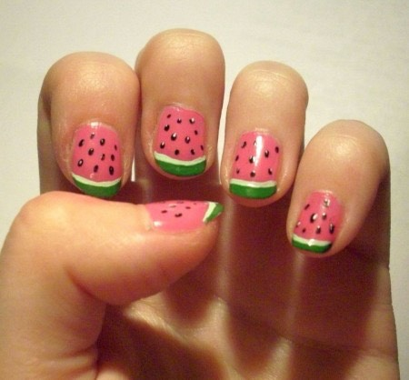 Oh my god the little watermelons look so cute