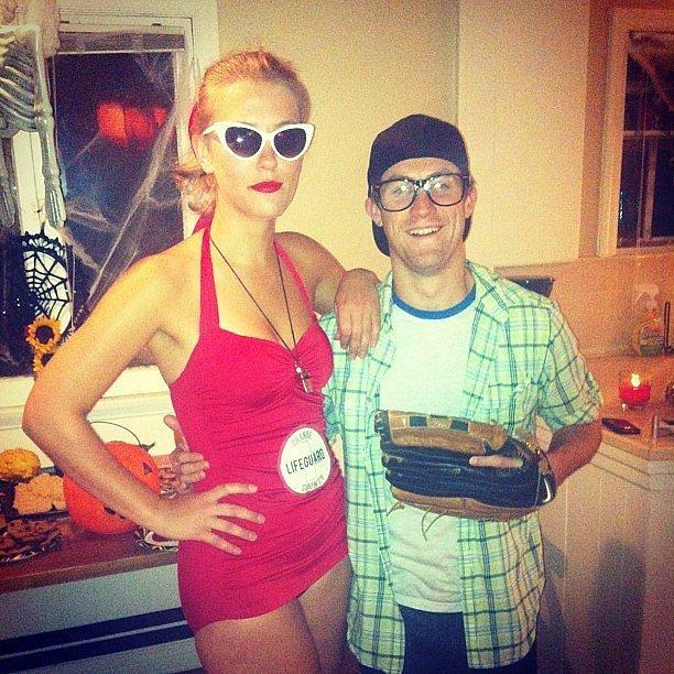 Squints and Wendy Peffercorn From The Sandlot