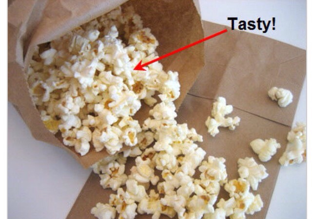 Popping Tip: Stop the microwave when the popping slows to one to two pops per second. You don't want to burn your tasty snack.  Individual bags are great everyone gets there own no fighting and they can put whatever they want on theres👍😃