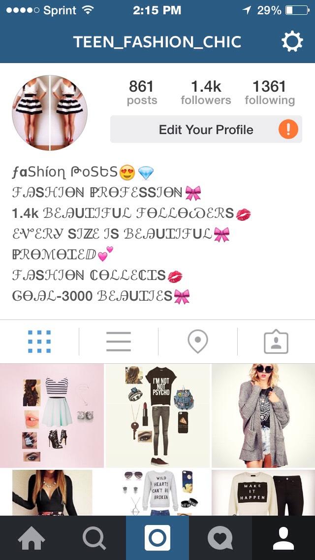 Fashion Posts❤️