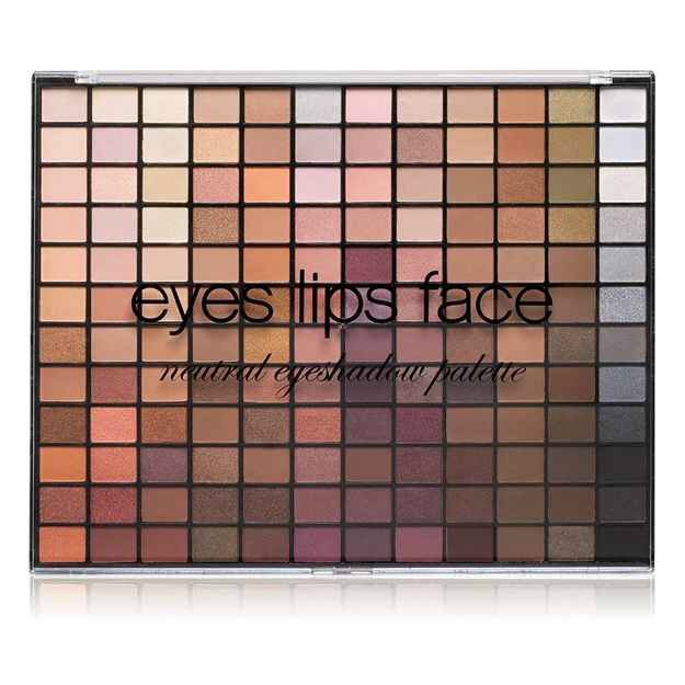 5. E.L.F. Neutral Eyeshadow Palette $15   Amazing mix of shimmery, glittery and matte shadows, the possibilities are seriously endless with this gem.  Compare to: Urban Decay Naked Palette 1, 2 & 3 combined. Try: the E.L.F. Ultimate Eye Shadow Palette for crazy colours in addition to the neutral one
