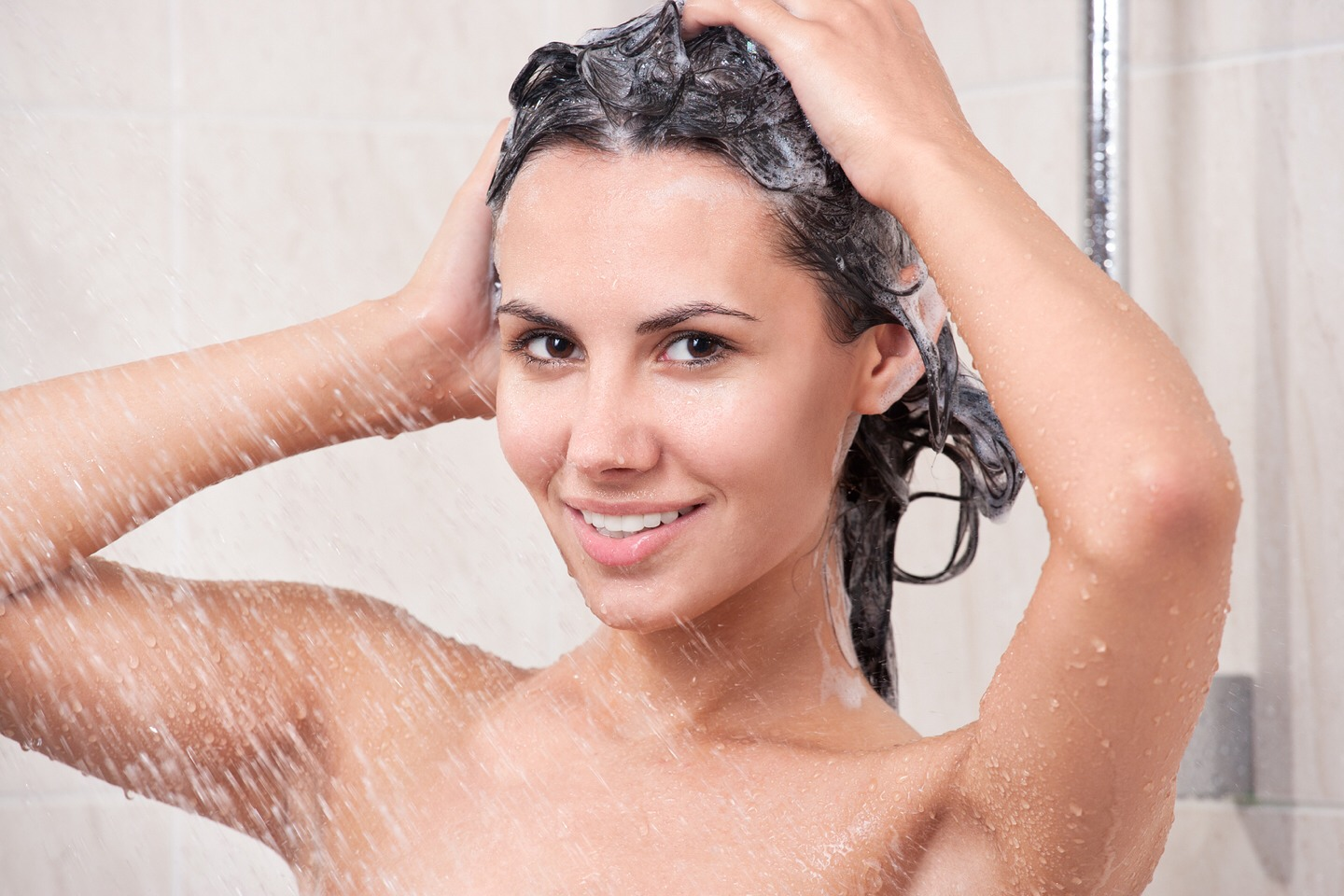 Wash your hair thoroughly getting all the sugar out don't worry it won't wash out