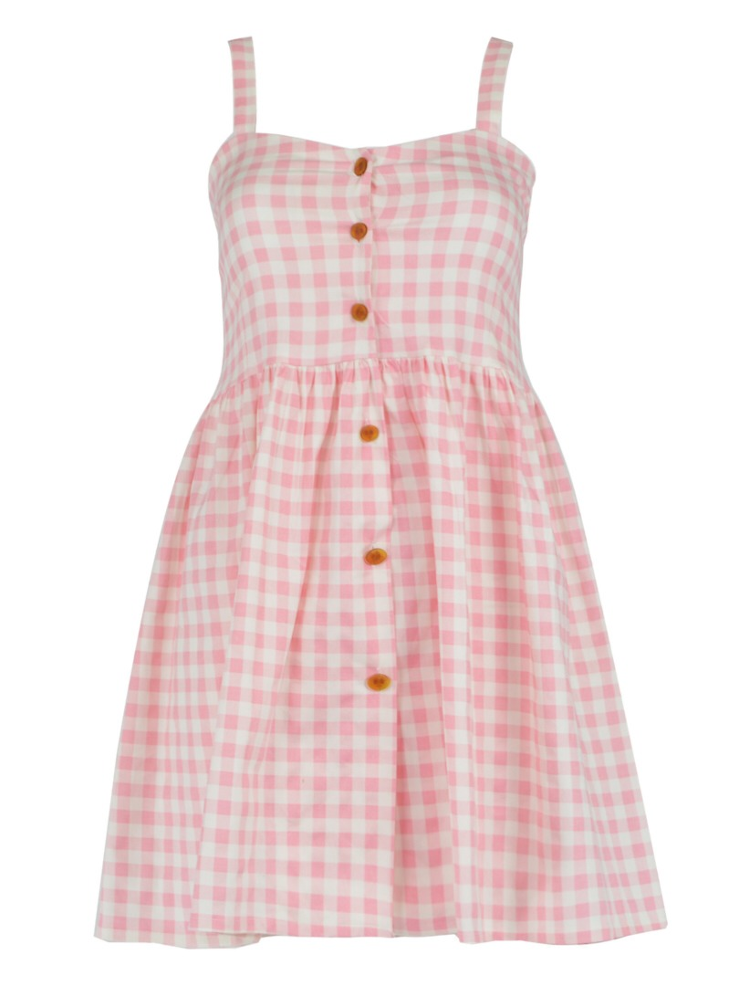 Pink and gingham is always great!