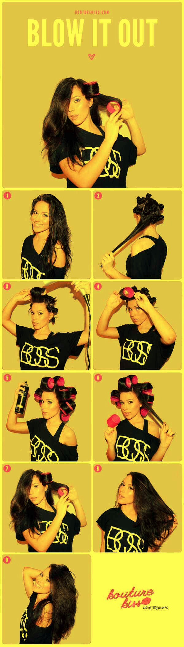 25. Self-grip velcro rollers give you the voluminous look of a round brush blowout without all the work.