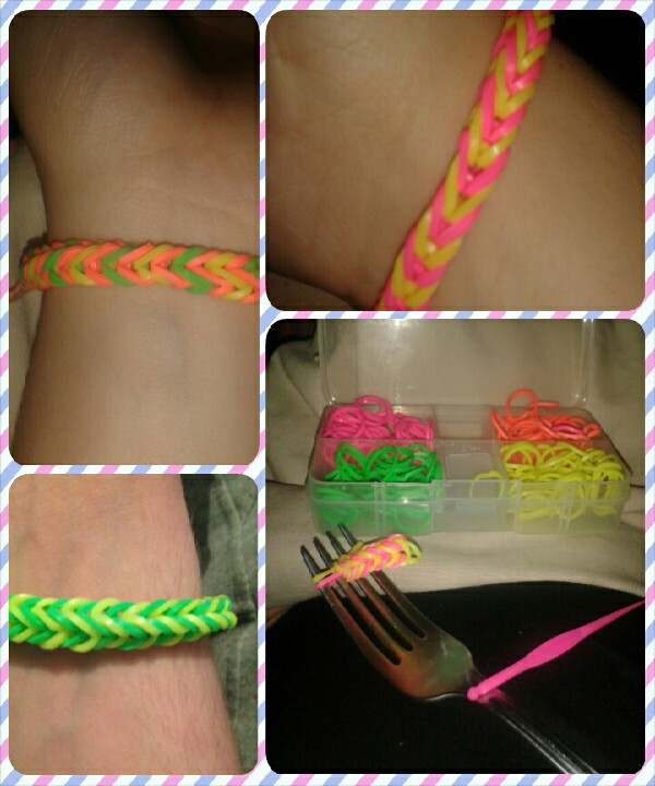 Loom bands. Addictive, fun and in trend.