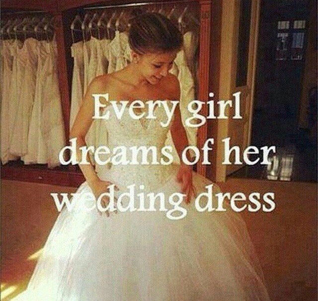 I found this quote so true and I hope everyone finds their perfect dress 👌❤️😘