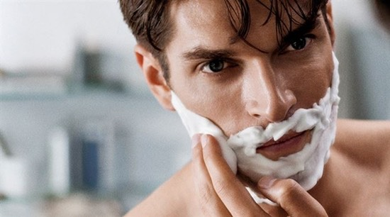 To reduce irritation leave shaving cream on for 5 mins before you start