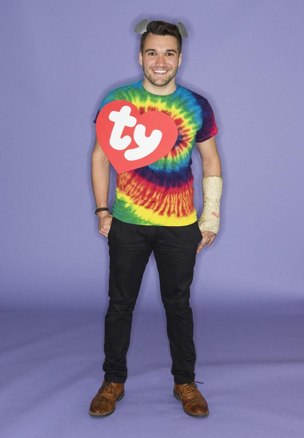 2. Got a tie-dyed shirt? Congrats, you're the Jerry Garcia Beanie Baby.