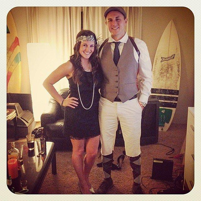 Jay Gatsby and Daisy From The Great Gatsby
