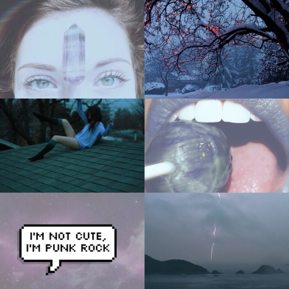 aquarius sun, cancer moon, taurus rising aesthetic