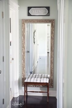 4. Mirrors are Great in Narrow Spaces If you're looking to decorate a narrow hallway or staircase, try a mirror to open up the space and prevent claustrophobia.