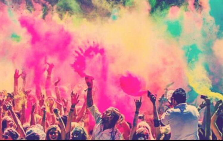 Go on the color run