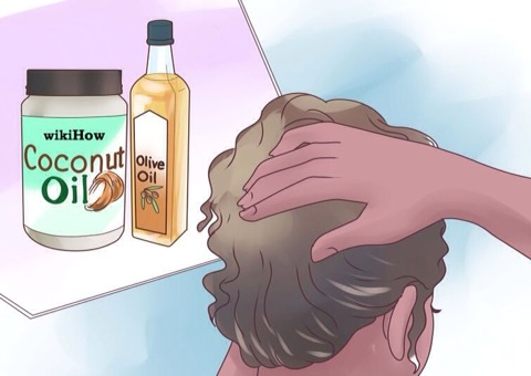 Use water. Water will always be the best form of revitalization and moisture. Most products have H20 as a main ingredient. Water stimulates hair roots and allows more moisture to penetrate dry hair. You can use a mixture of half olive oil and half coconut oil. To moisture your hair better.