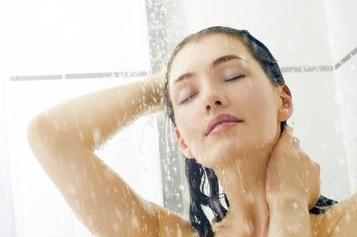 I know it's horrible, but always rinse all of your hair with cold water! Do this afterwards too.