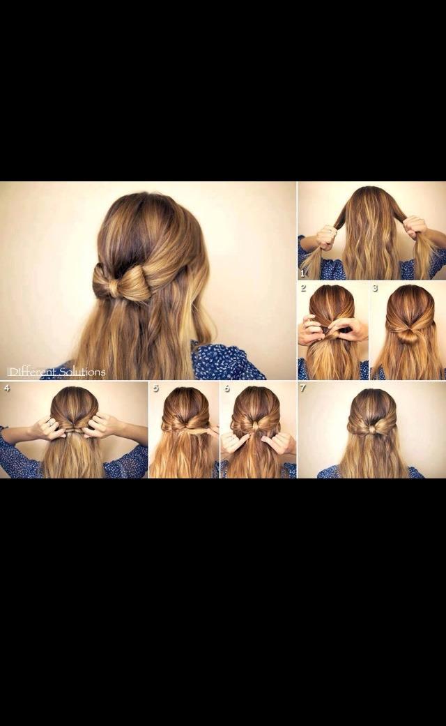 Cute, fun hair bow!