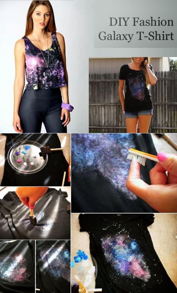 3. Bleach Galaxy Print