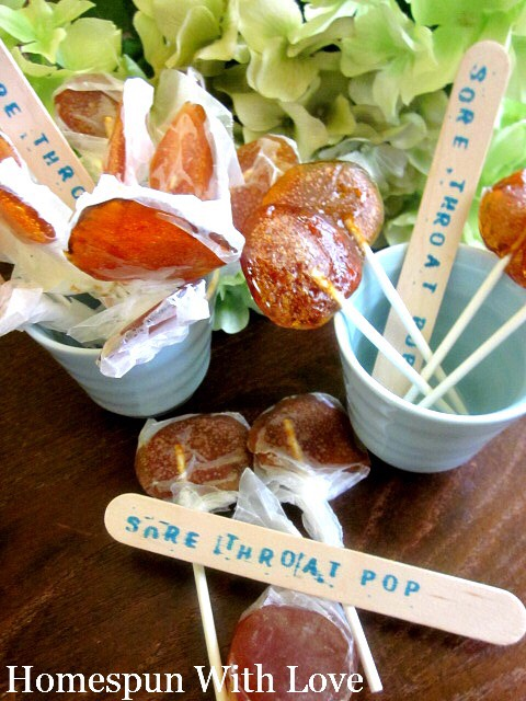 Keep these lollipops in a cool dry place.