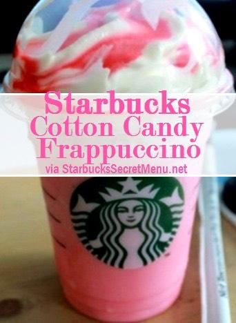 •Vanilla Bean Frappuccino •Add Raspberry Syrup (1 pump tall, 1.5 pumps grande, 2 pumps venti)