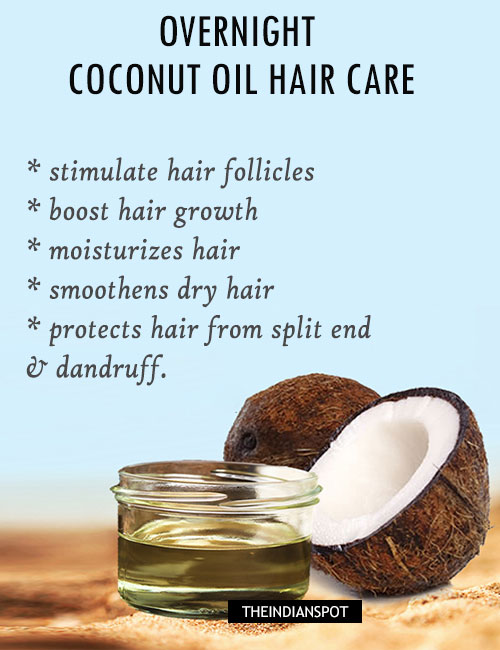 You may have seen this EVERYWHERE, but coconut oil really works it's magic on various parts of the body including hair. If you are In need of a great moisturizer, something that will promote hair growth, and take care of dandruff and split ends, coconut oil is just for you 💖