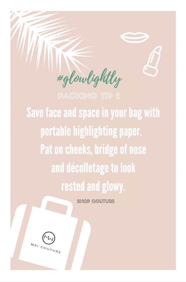 #glowlightly with practical and portable highlighter papers.