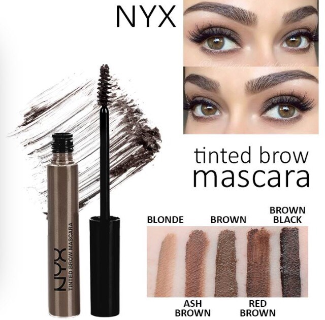 Just use eyebrow mascara! I use it on my eyebrows and it only takes a couple swipes and my eyebrows turn out perfect everytime! I will never go back to using a pencil. It's so easy!