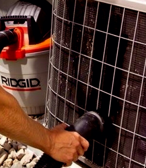 Vacuum out your air conditioner. It gets all the gunk that can get into your air ducts.