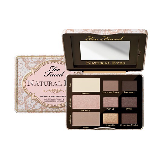 Don't want to pay all that $ for the Too Faced Natural Eye palette but still want to get the look?