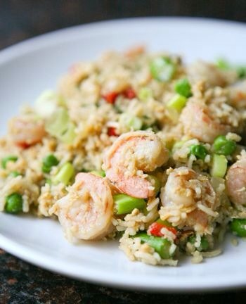 Shrimp Fried Rice  Fried rice is always a well loved Chinese dish. Making your own at home is easier than you think, and more economical too. Try out recipe and learn what her secret ingredient is to making a great fried rice your family will love.