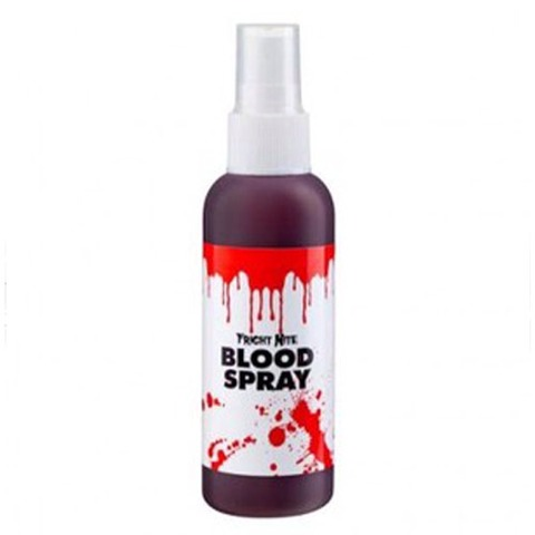Add blood spray to any old tops to create a cool zombie look, add a few tears and crinkles to clothes and add blood spray to body,face and clothes #bloodyzombie