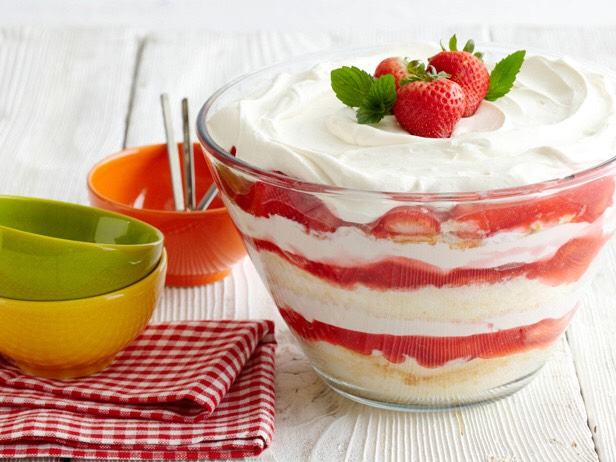 Make a home-made short cake! Find any simple recipe online.