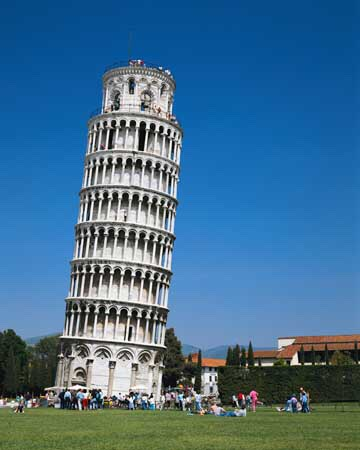The Leaning Tower Of Pisa ( Italy )