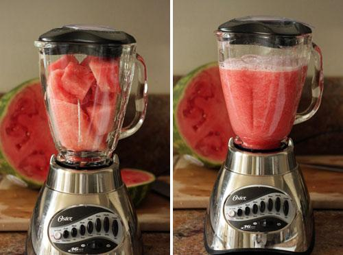 Place all ingredients in a blender and blend until smooth and sugar is dissolved.