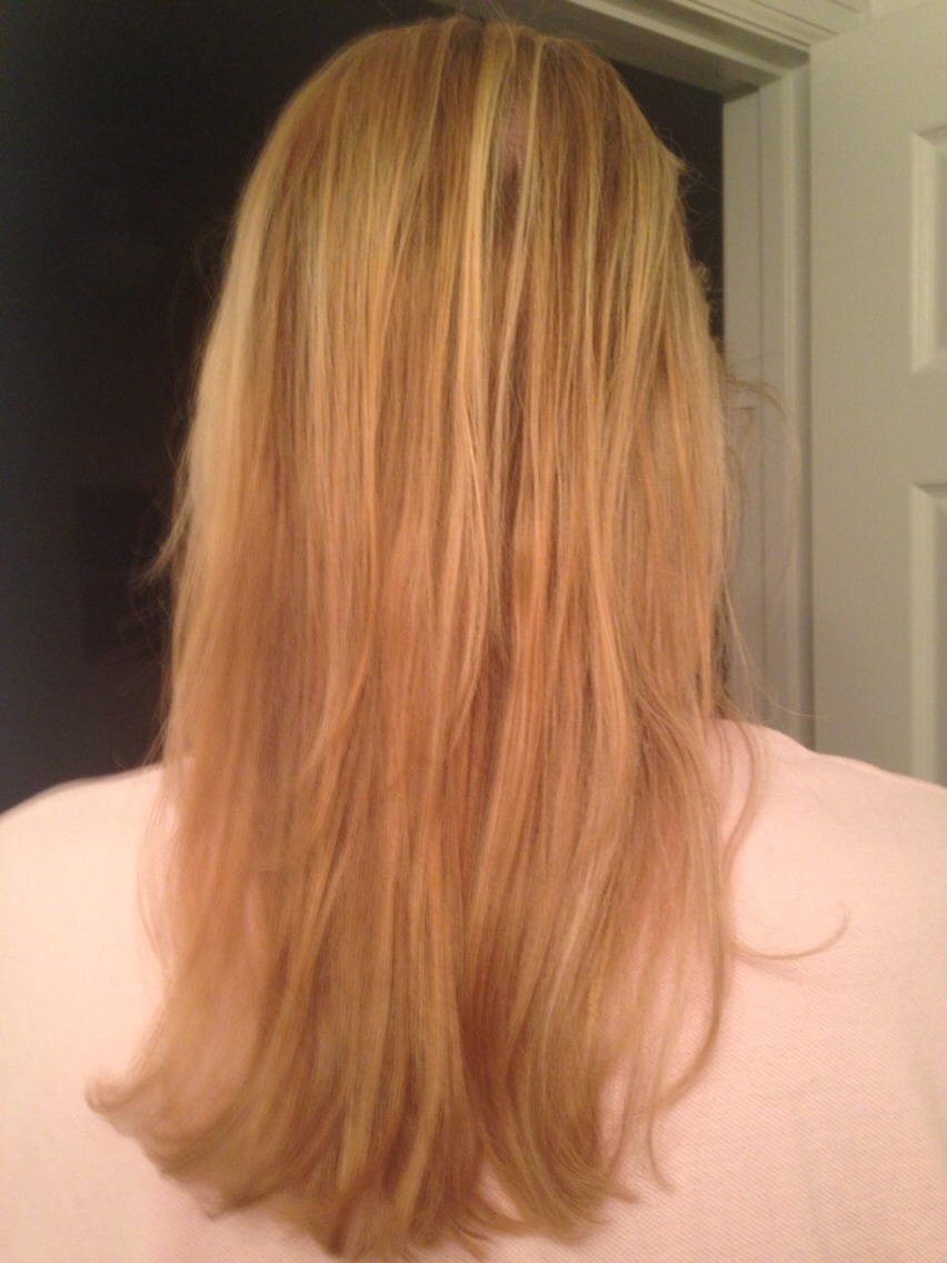 My hair is super flat and matte from bleaching it