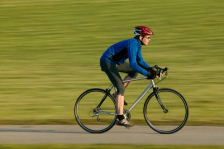 1.Ride your bike around the neighborhood for at least 20 minutes a day for a week.