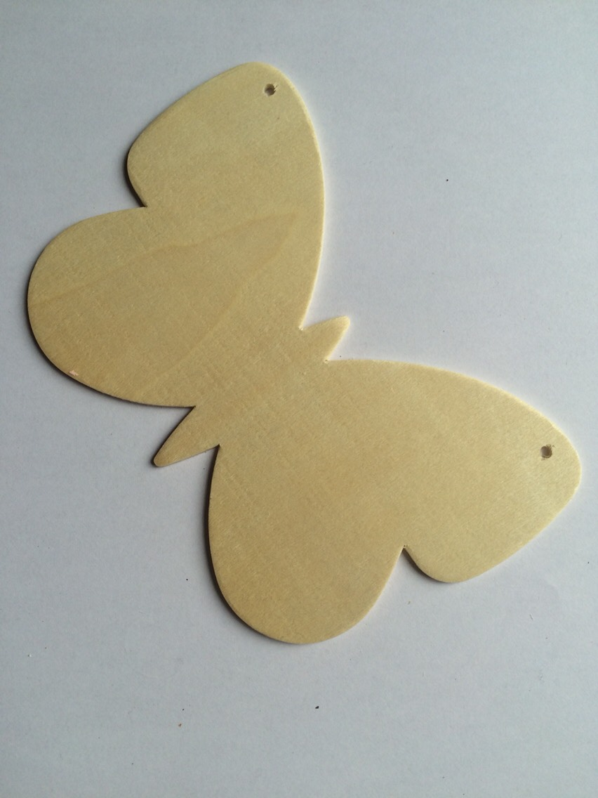 You will need: a plain wooden butterfly (can be ordered from Amazon or Baker Ross  etc)
