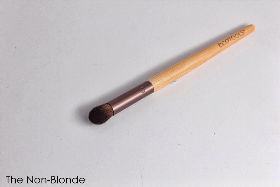 Next grab a small blending brush. (I like the ecotools brush)