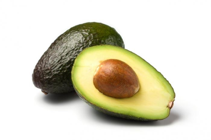 Avocado The bright summery green color of avocado makes it an eye-pleasing topping for salads, sandwiches, and burgers. Avocado is rich in healthy monounsaturated fat — which keeps you satisfied and boosts heart health — in addition to lots of belly-slimming fiber.