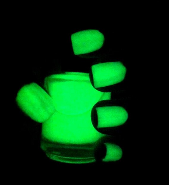 Apply to your nails and let them glow!!!!