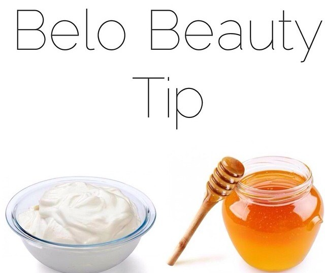 aside from being a healthy dessert, the mixture of 1 tbsp of yogurt and 1 tbsp of honey to your face for 30 mins will help reduce dark age spots naturally.