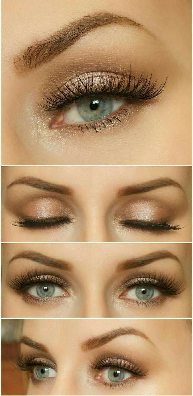 Perfect makeup for green blue eyes life style by modernstork perfect makeup for brown soft natural makeup baditri Images